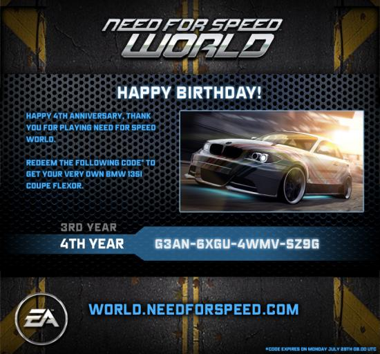 Nfs world 4th year