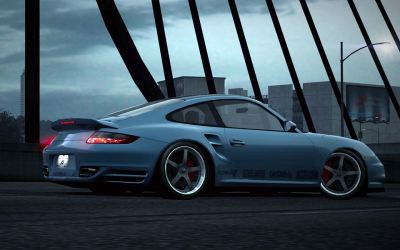 Nfs world porsche 911 turbo glacier